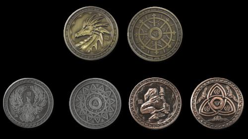 Magiermünzen