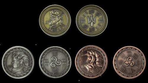 Wassermünzen