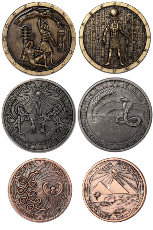 ägyptersetmünzen