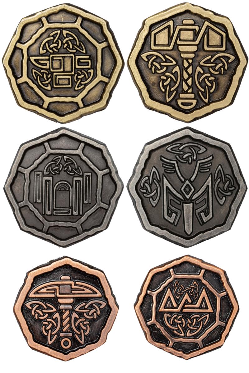 altzwergensetmünzen