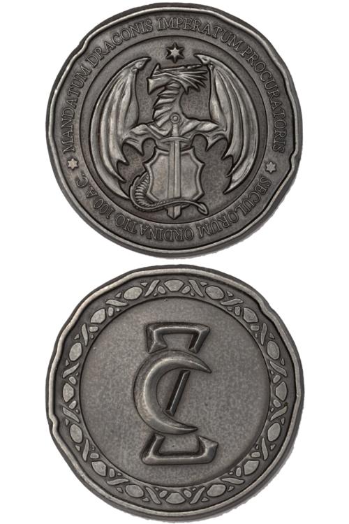 drachensilbermünzen