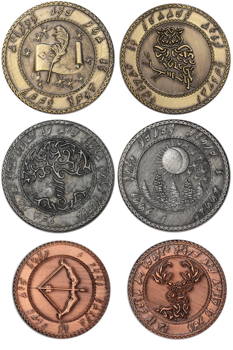 elfensetmünzen