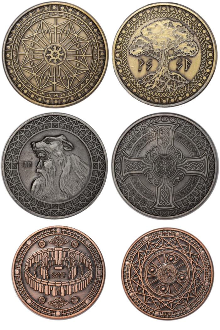 erdensetmünzen