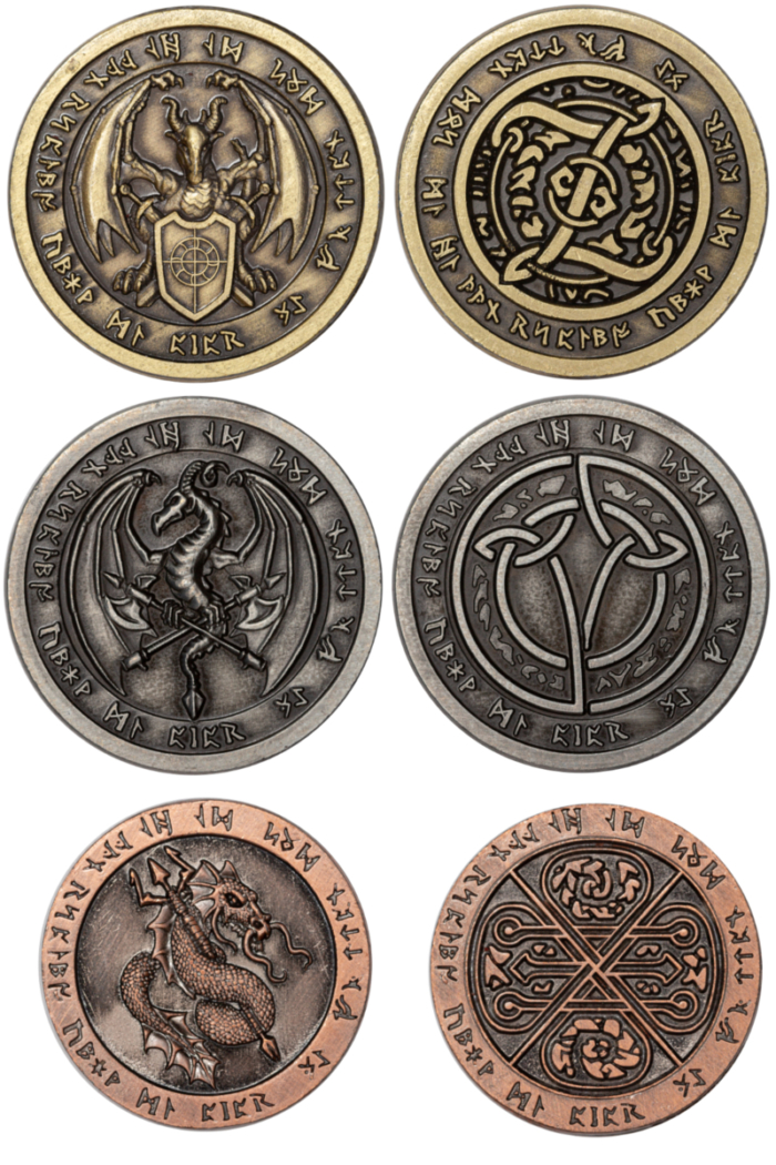 feuersetmünzen