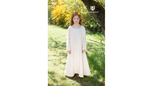 Kinderunterkleid Ylvi Natur