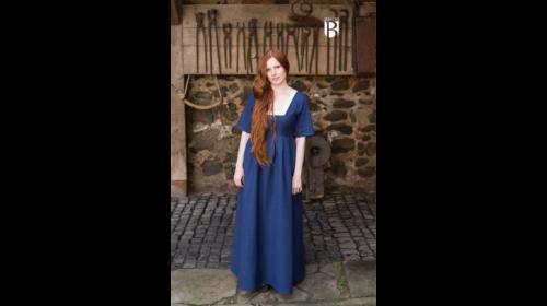 Kleid Frideswinde Blau