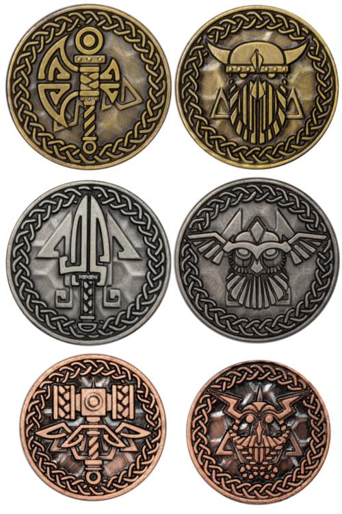nordmannsetmünzen