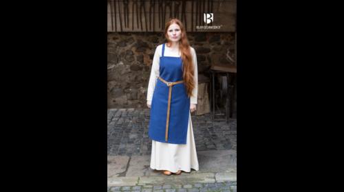 Trägerkleid Frida Blau