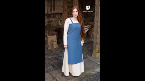 Trägerkleid Frida Meerblau