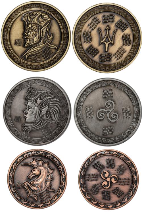 wassersetmünzen