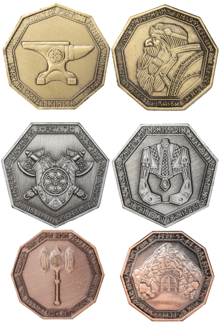 zwergensetmünzen