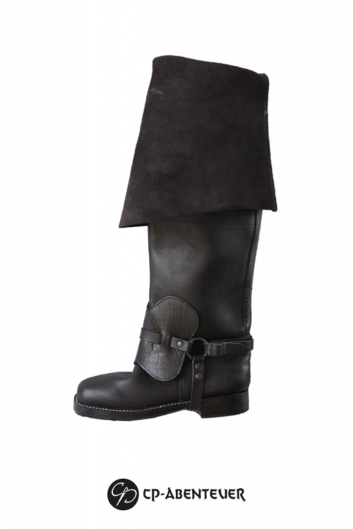 Athos - Reitstiefel Schwarz