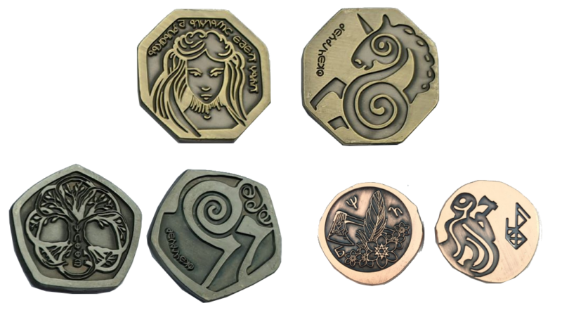 Reitersetmünzen