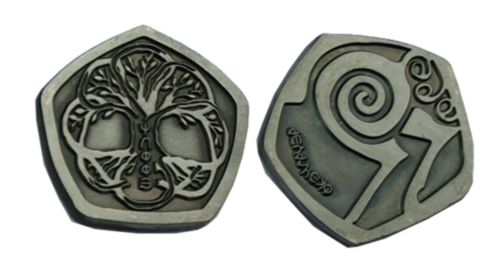 Reitersilbermünze