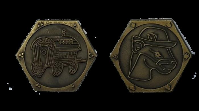 Spielergoldmünzen
