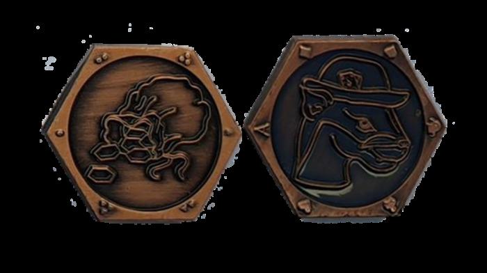 Spielerkupfermünzen