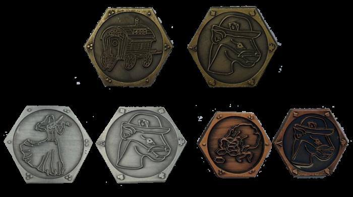 Spielermünzen