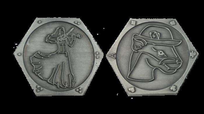 Spielersilbermünzen