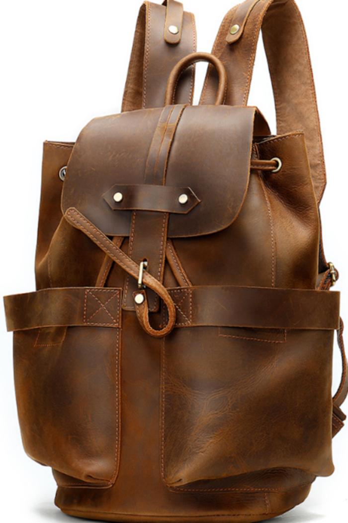 Rucksack des Reisenden